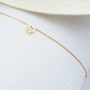 BonBiniGlobe gold plated necklace